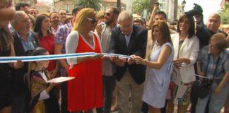 Fátima Abal e Juan Gil acordan a sinatura dun convenio para a Festa do Albariño