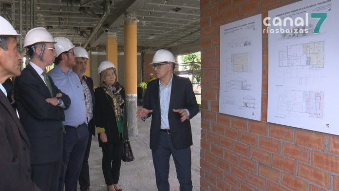 A ampliación do centro de saúde estará rematada en outubro