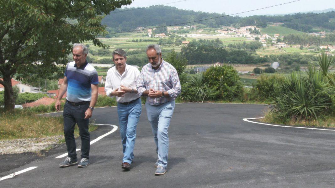 Xunta e concello invisten 68.000 euros en melloras nos camiños do rural