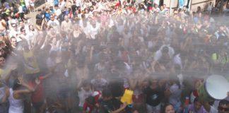 Unha multitudinaria Festa da Auga volve celebrar San Roque en Vilagarcía