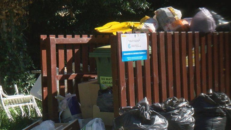 Seguen os problemas co lixo na Serra do Barbanza