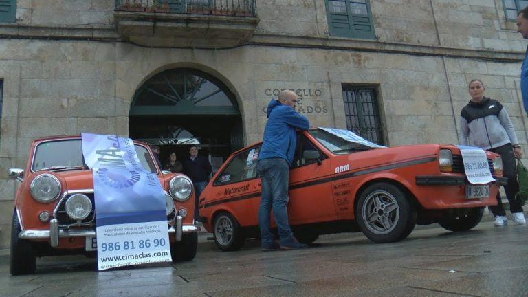 Uns 70 vehículos clásicos participarán este ano no Rally do Albariño