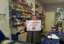 Un quinto premio tocou na Administración de Lotaría de Pontevedra situada en Eduardo Pondal