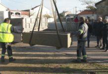 O concello retira os polémicos testos de San Roque do Monte