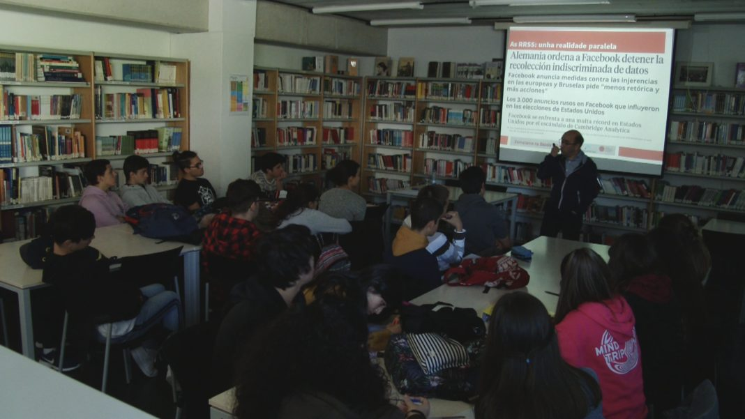 O instituto de Sanxenxo acolle o obradoiro de xornalismo