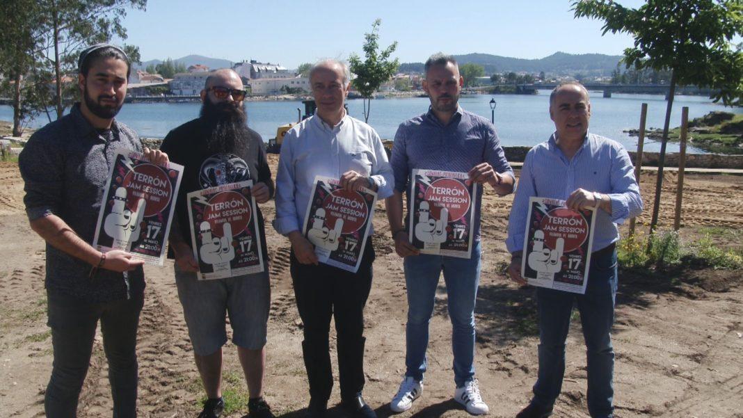 O futuro anfiteatro do Terrón estréase con jazz o Día das Letras Galegas