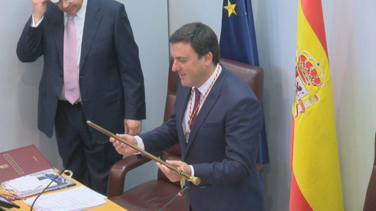 Valentín González Formoso foi reelixido esta mañá coma presidente da Deputación da Coruña