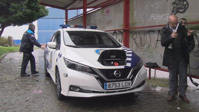 A policía local de Vilanova adquire un novo coche eléctrico
