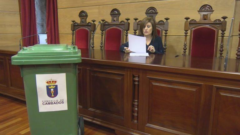 Cambados impulsa un sistema de recollida de residuos orgánicos 'porta a porta' para a hostalaría