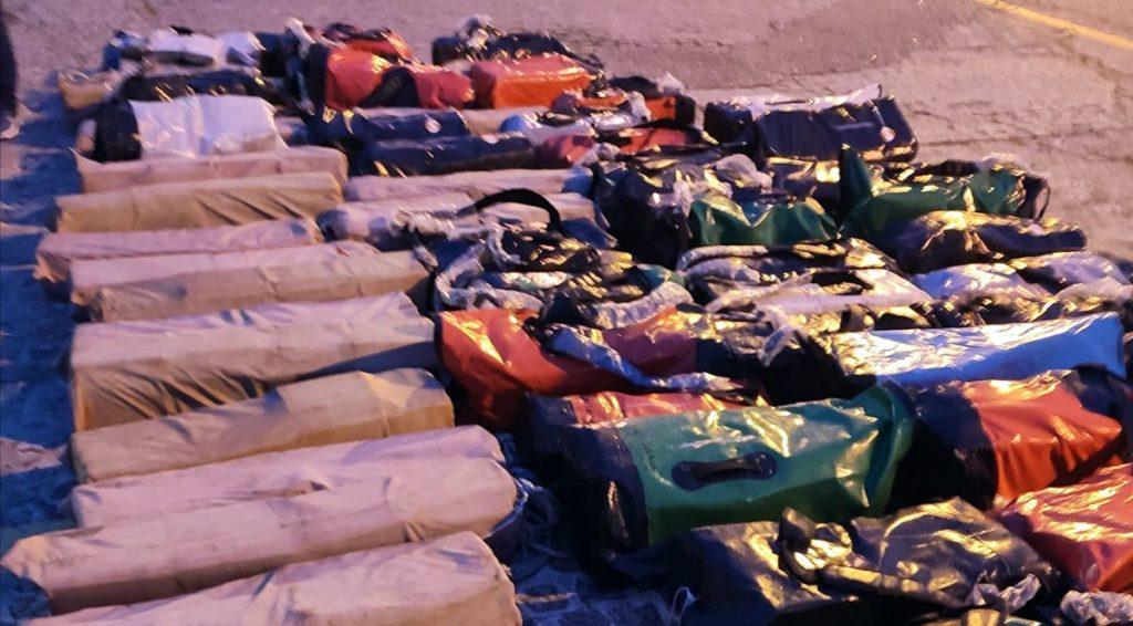 A prisión os dous primeiros detidos polo alixo de 3.700 quilos de cocaína da Operación Lince