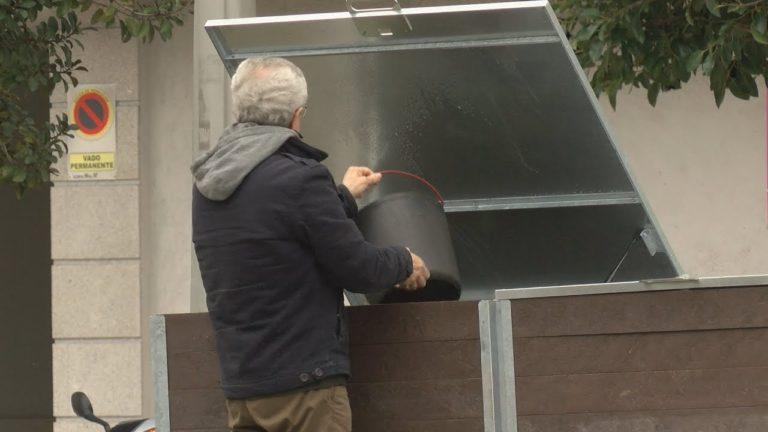 A compostaxe comunitaria chega ata o barrio pontevedrés de Campolongo