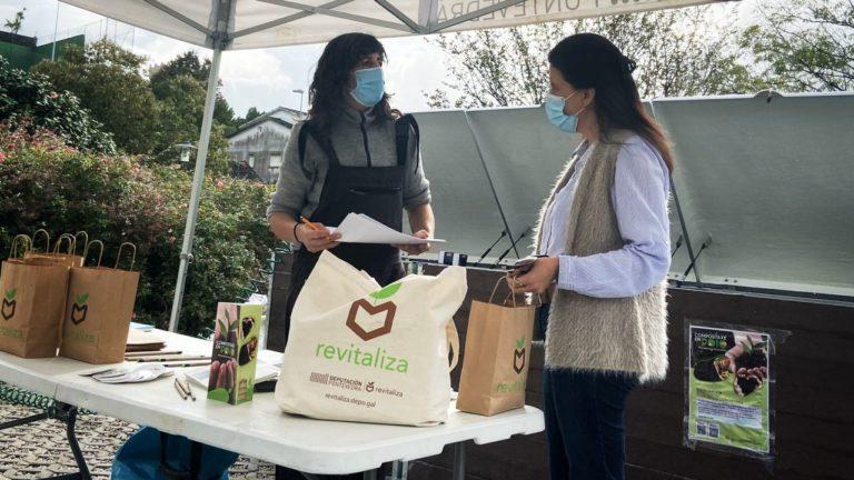 Poio pon en marcha o seu primeiro centro de compostaxe comunitario